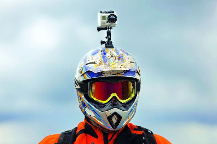 GoPro Motorcycle Helmet Chin Mount