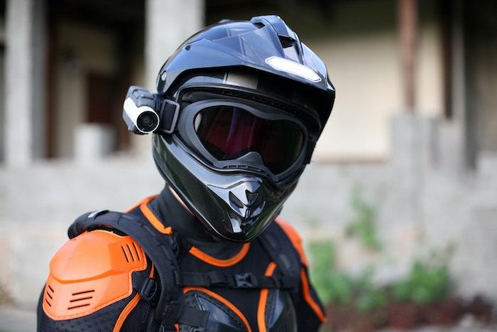 Motorcycle Helmet With Camera