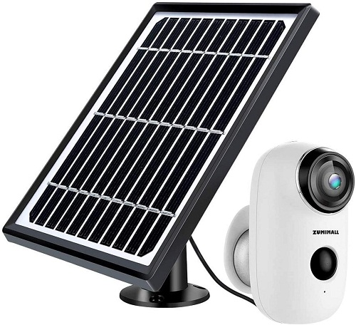 ZUMIMALL ZM-WFA3K Solar Powered Surveillance Camera