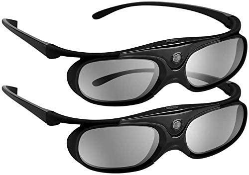 DLP 3D GLASSES 144Hz RECHARGEABLE 3D ACTIVE SHUTTER GLASSES FOR ALL DLP-LINL 3D PROJECTORS
