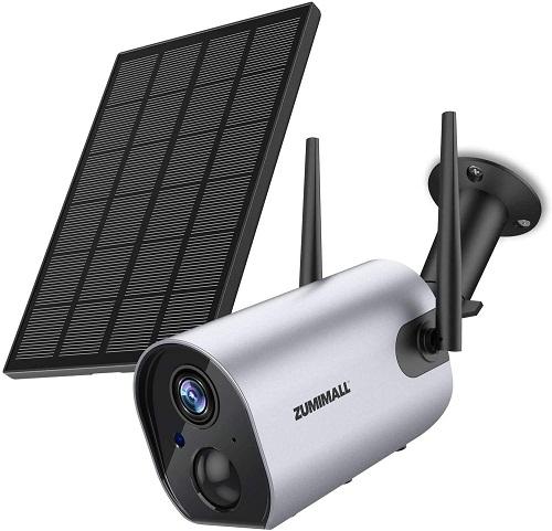 Zumimall ZM-GX1K Solar Powered Surveillance Camera