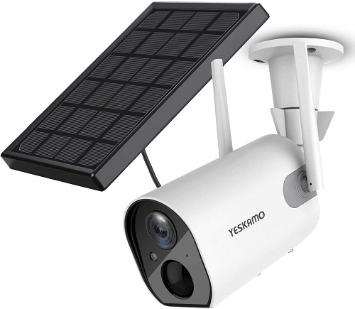 YESKAMO Outdoor Rechargeable Battery Wi-Fi Camera