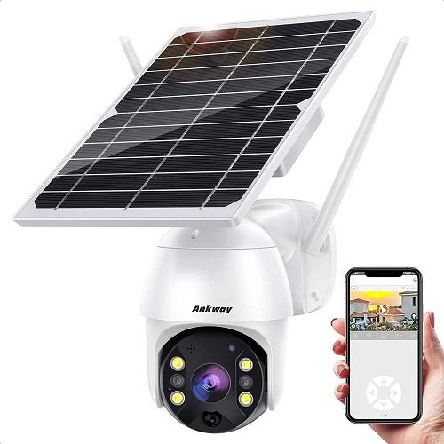 Ankway Solar Security Camera Outdoor