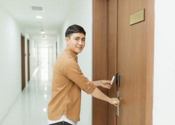 Keyless Door Lock With Camera