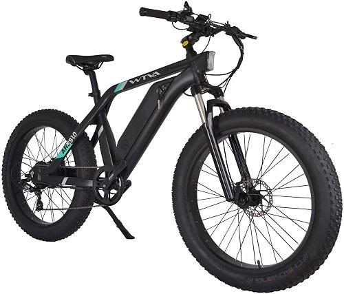 10. WTVA 26'' electric bike with 750W motor