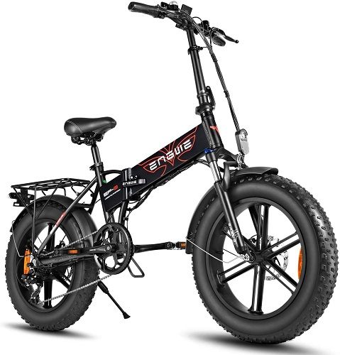 ENGWE 750W 500W folding electric bike for adults