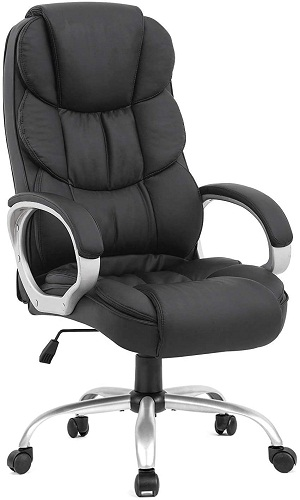 3. BestOffice ergonomic office chair desk chair with lumbar support arms