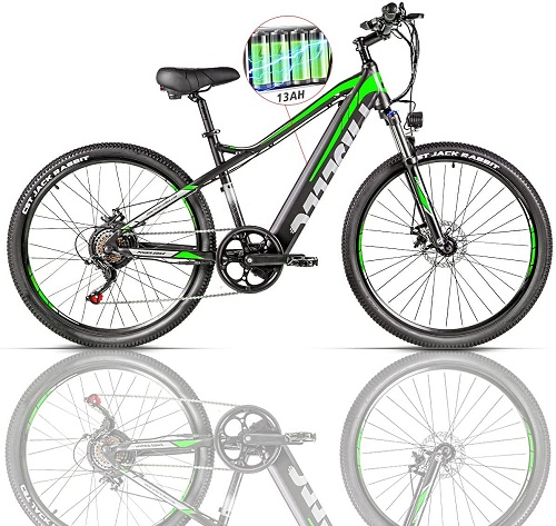 GS9 paselec Electric Mountain bikes for adults
