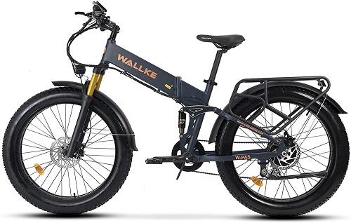 W Wallike Ebike folding electric bike for adults