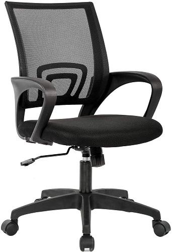 BestOffice Ergonomic Desk Chair Mesh Computer Chair with Lumbar Support Armrest